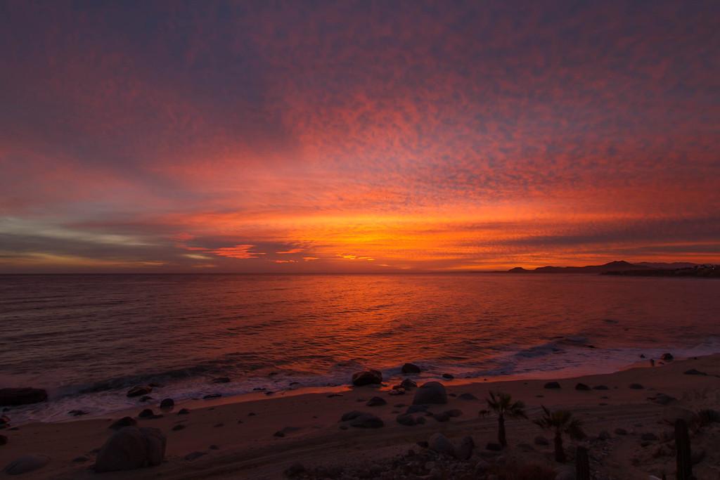 Dawn over Sea of Cortez at Los Barriles