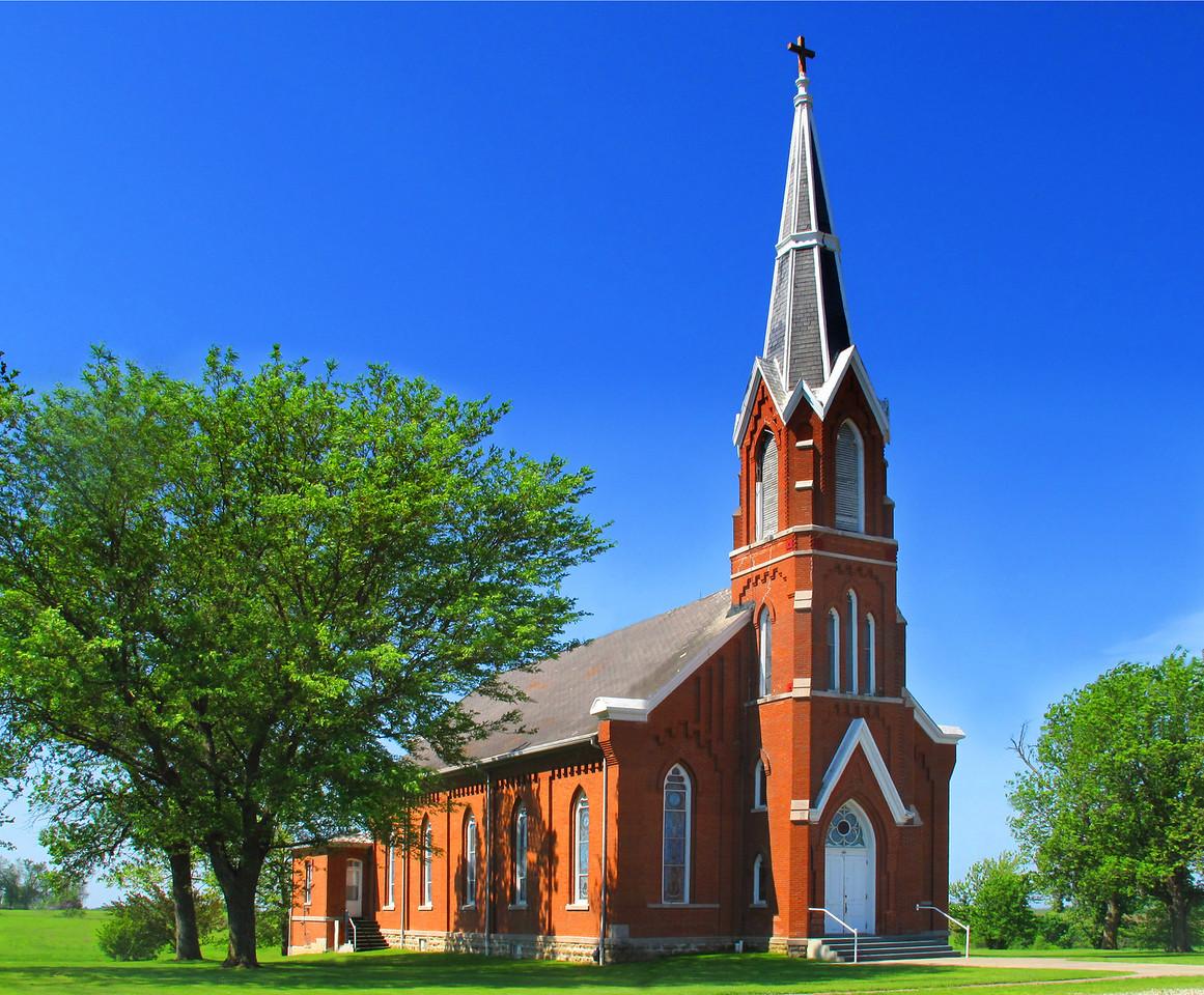 Saints Peter & Paul Catholic Church, Clear Creek, Iowa