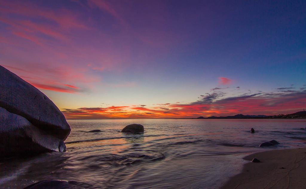 Dawn over the Sea of Cortez